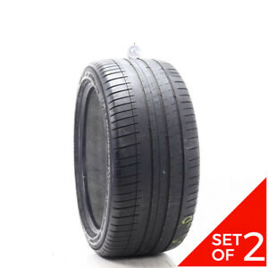 Set Of 2 Used 285 35zr20 Michelin Pilot Sport 3 Mo 104y 5 6 32