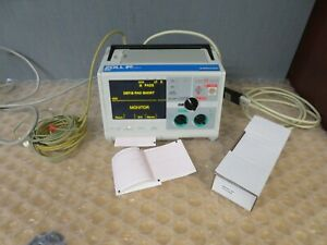 Zoll M series Biphasic 3 Lead Monitor Ecg Aed Als Pacer Print New Battery 18191