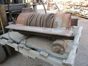 Ramsey Hydraulic Winch 30 000 Lbs