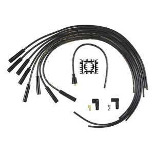 Universal Spark Plug Wires Ignition 8mm Super Stock Rfi Suppression Cables