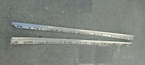 1958 Chevy Impala Outside Door Moldings Pair Of