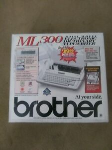 Brother Ml 300 Multilingual Spellcheck Daisywheel Electronic Typewriter