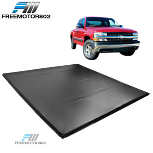 Fits 99 06 Silverado 1500 2500hd 3500 6 5 Ft Truck Bed Four Fold Tonneau Cover
