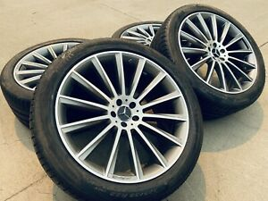 4 Oem Factory Amg Mercedes Benz Gle43 22 Inch Wheels Tires Coupe Gle Gle63
