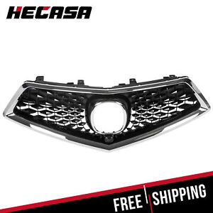 Fits 2017 2019 Acura Mdx 2018 18 Front Grille Chrome Painted Grille New