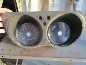 71 72 73 74 75 76 77 Dodge B Series Van Gauge Cluster Speedometer All Works Oem