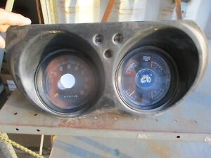 71 72 73 74 75 76 77 Dodge B Series Van Full Gauge Cluster Speedometer All Works