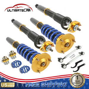 Set 4 Coilovers Shock Absorber Struts Kit For 2000 2005 Mitsubishi Eclipse Gs Gt