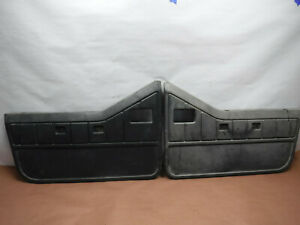 Jeep Wrangler Yj 87 95 Factory Gray Half Door Panels Set Oem
