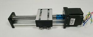 100mm Linear Guide Motion Rail Slide Stage Actuator Free Ship