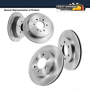 Front And Rear Premium Oe Brake Rotors For 2006 2009 Nissan Patrol