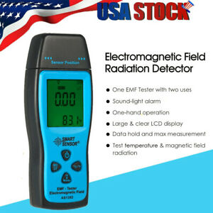 Digital Lcd Emf Tester Mini Electromagnetic Field Radiation Detector Meter A9e3
