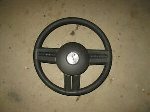 2010 2014 Ford Mustang Oem Black Steering Wheel Assembly With Cruise Control