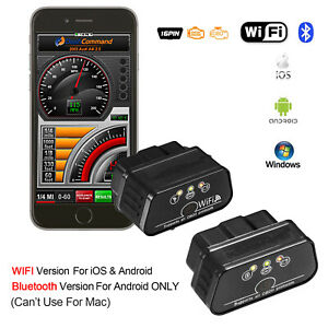 Obd2 Obdii Car Auto Bluetooth Wifi Diagnostic Tool Scanner For Android Ios