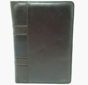 Martin Dingman Leather Portfolio Rudyard Jotter Brown The Refined Country Life