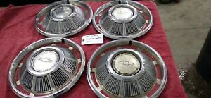 Used Oem 14 Hubcaps Set Of 4 1969 Chevrolet Impala Caprice