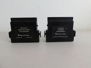 2 Vetronix Cartridges Gm 88 98 Body Systems 88 97 Chassis Tech 1 Mastertech