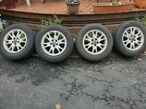 04 07 Oem Volvo Xc70 V70 16x7 Wheels Rim And 215 65 15 Cooper Cs5 Tires 5x108