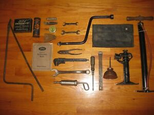 Model A Ford Tool Kit 1930 1931 Complete