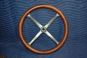 Wood Rim Steering Wheel Antique Car Horseless Carriage Model T Speedster