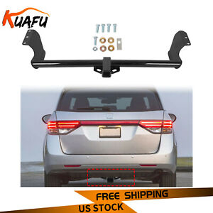 Glossy Black For 1999 2017 Honda Odyssey Class 3 Trailer Hitch Tow Receiver 2