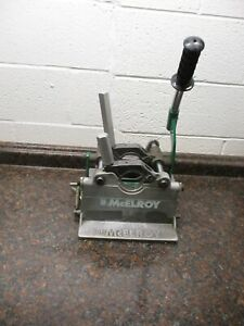 Mcelroy 2lc 1 2 To 2 Fusion Machine Base Carriage Used Free Shipping