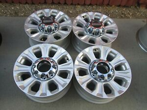 18 Ford F250 F350 Super Duty Factory Silver Wheels Rims 2020
