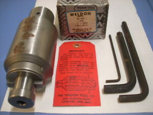 Weldon milling machine Adapter 39 967 For 1 Shell Mill new Old Inventory