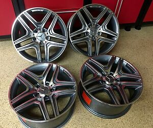 Mercedes 17 Inch Rims C63 Wheels Set4 New Exclusive C300 C250 C350 C400 C Amg