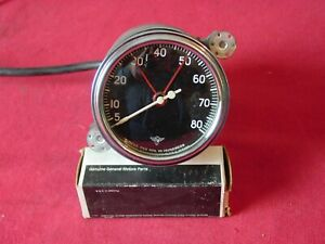 1950 s Vintage Stewart Warner Wings Tachometer Tach 8k Rpm 6 Volt Hot Rat Rod