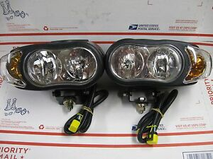 Meyer Night Saber Iii Snow Plow Lights With Hardware New And Improved Saber Ii