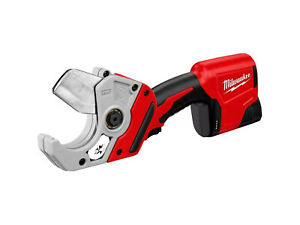 Milwaukee M12 12 volt Lithium ion Cordless Pvc Pipe Shear Cutter tool only
