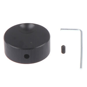 Frosted Solid Aluminum Volume Control Amplifier Knob For 6mm Potentiometer