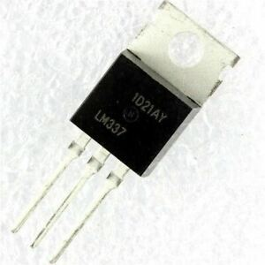 10pcs lot Lm337t Lm337 To 220 Negative Adjustable Regulator Ic In Stock
