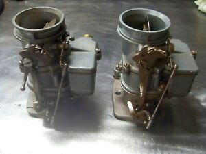 Two Stromberg 97 Carbs