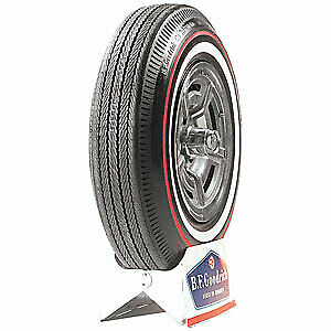 Coker Tire 60980 Coker Bfgoodrich Silvertown Whitewall Redline Bias Ply Tire