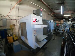 2012 Haas Vf3ss 12k Spin Cnc Milling Machine Super Speed vf3 Vf 3