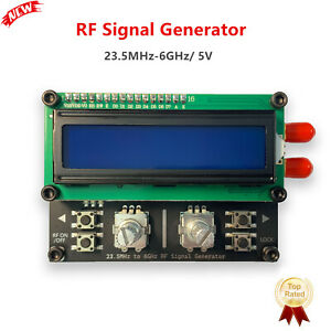 Rf Signal Generator 23 5mhz 6ghz Signal Source Usb Power Sma Differential Output