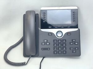 Cisco Cp 8851 k9 Color 5 Screen Ip Voip Business Phone No Stand