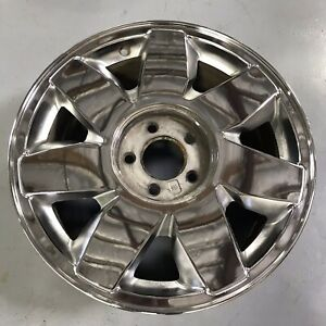 17 Inch Wheel Cadillac Deville Dts 2000 2002 Genuine Oem Chrome 4553 4552