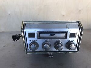 1967 Chevrolet Chevelle Corvair Impala 8 Track Player Dealer Add On 7300481