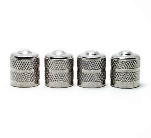 Heavy Duty Metal Tire Valve Stem Caps Universal Schrader