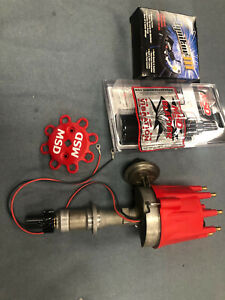 Pertronix Iii Ignition Stock Pontiac V8 Distributor New Gear W Coil And Msd Cap