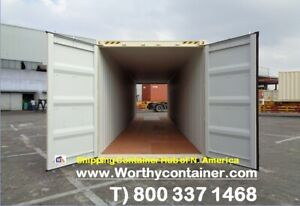 Double Door dd 40 Hc New One Trip Shipping Container In Tampa Fl