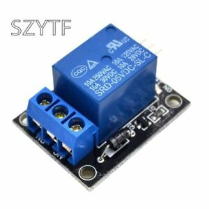Ky 019 5v One 1 Channel Relay Module Board Shield For Pic Avr Dsp Arm For Ardui