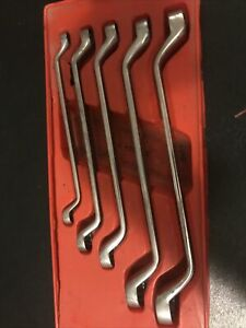 Snap On X0605 5 Pc 12 Point Sae Flank Drive Standard 60 Deep Offset Box Wrench