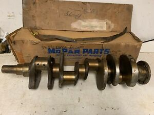 1958 Plymouth Dodge Desoto 350 Ci Golden Commando Engine Crankshaft Nos Mopar