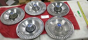 1964 Ford Galaxie Hubcaps 14 Wheel Rim Covers Set Of 4 Original Turbine Style