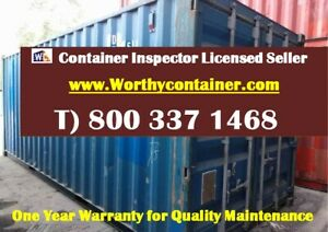 20 Cargo Worthy Shipping Container 20ft Used Container In Chicago Il