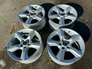 17 Ford Mustang Metallic Silver Factory Oem Alloy Wheels Used